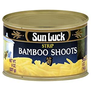 Sun Luck Bamboo Shoot Strips, 8 oz (Pack of 2)