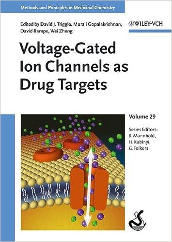 Voltage-Gated Ion Channels as Drug Targets: David J  Triggle, Murali