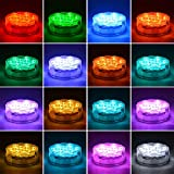 Idubai 2 Pack Submersible LED Lights with