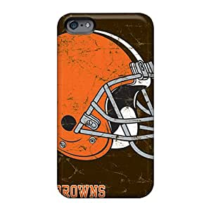 Apple Iphone 6 IEq1012WrFN Allow Personal Design Attractive Cleveland Browns Skin Anti-Scratch Cell-phone Hard Cover -LeoSwiech