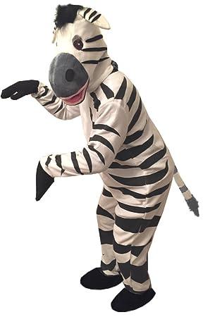 Zebra Kostüm Einheitsgrösse L Xl Fasching Karneval Maskottchen