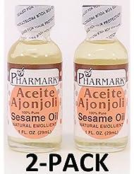 Aceite De Ajonjoli 1 Oz. Sesame Oil 2-PACK