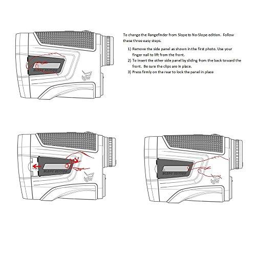 Caddytek Golf Laser Rangefinder with Slope Compensate Distance, CaddyView V2+Slope by CaddyTek (Image #3)