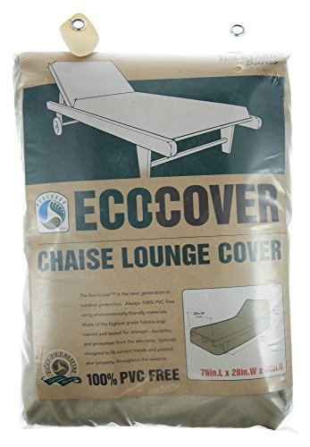 Mr. Bar-B-Q Backyard Basics Eco-Cover PVC Free Premium Chaise Lounge Cover by Mr. Bar-B-Q