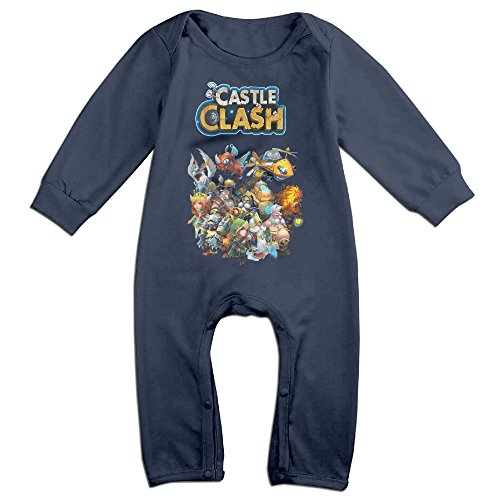 castle-clash-game-baby-fashion-triangle-romper-bodysuit-jumpsuit-onesie-navy