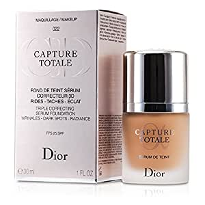 capture totale triple correcting serum foundation spf 25 022 cameo christian. Black Bedroom Furniture Sets. Home Design Ideas