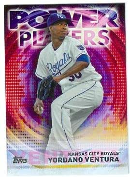Amazon.com: Yordano Ventura baseball card (Kansas City