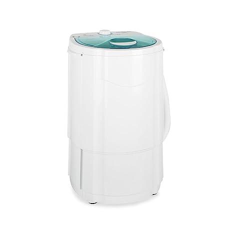 oneConcept - Mini lavadora centrifugadora, 130W de potencia, 3 kg ...