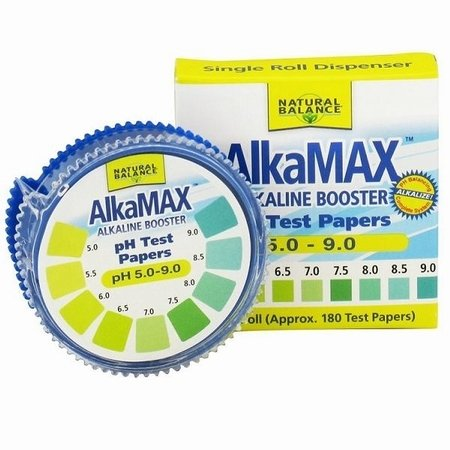 AlkaMax Alkaline Booster pH Test Papers