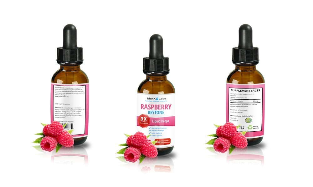100% PURE Raspberry Ketone Drops - LOSE WEIGHT OR YOUR MONEY BACK - Top Choice of Dieters Wanting the Strongest Raspberry Ketones Liquid with 250mg Extracted from - ACTUAL Raspberry Fruit, 2oz Bottle by MaxX Labs (Image #6)