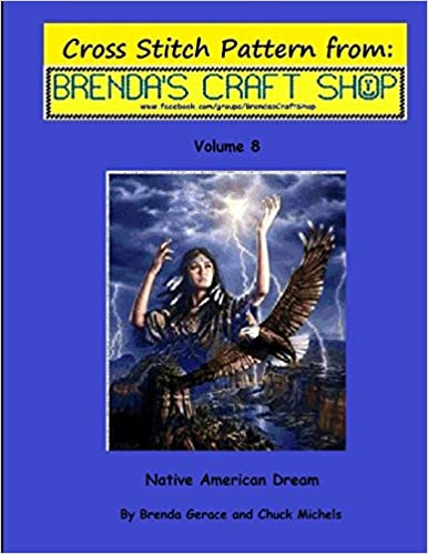 Cross Stitch Pattern: from Brendas Craft Shop Cross Stitch Patterns From Brendas Craft Shop Volume 8 Native American Dream