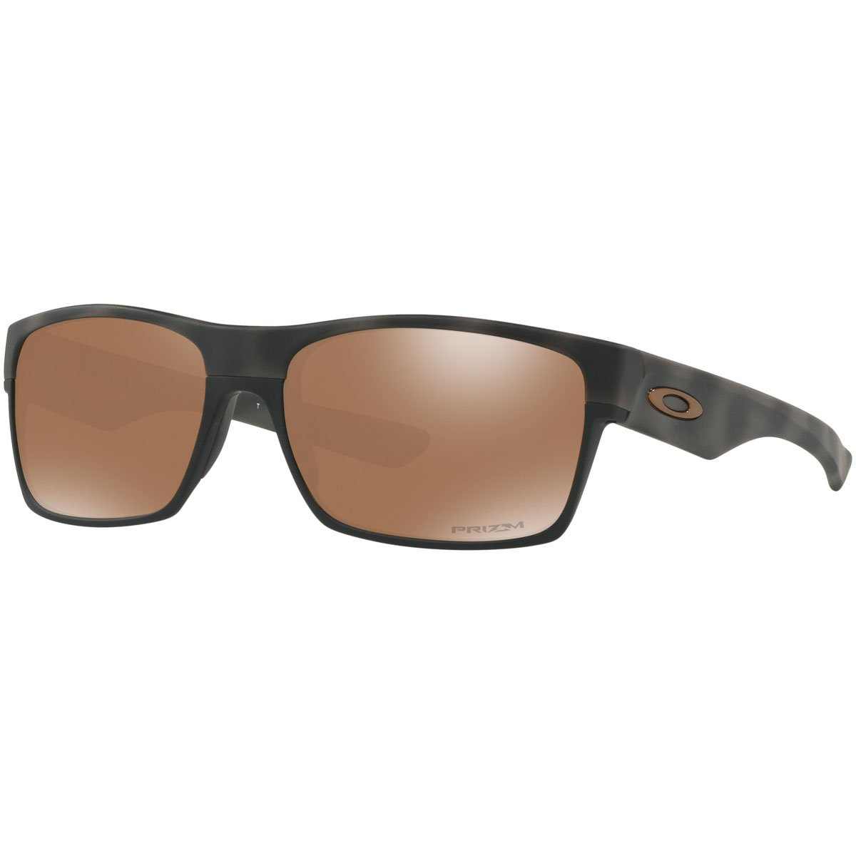 Oakley Mens Twoface Sunglasses, Olive Camo/Przm Tungsten,OS