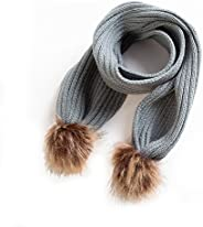Baby Winter Scarf -Infant Toddler Baby Girls Boys Knit Warm Scarf (Grey)