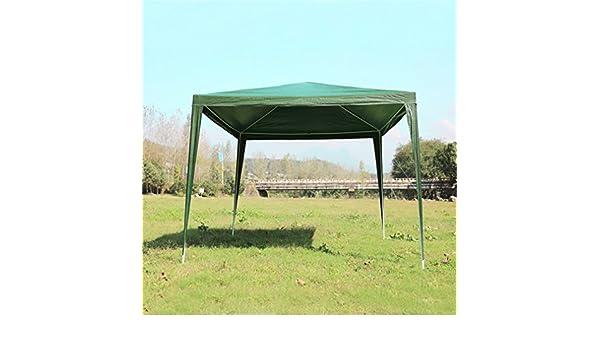 Cartkningts Carpa para Jardín, Carpa de 3 x 3 m, Impermeable, para Fiestas, Bodas (no Incluye Ropa), Color Verde, Tamaño 3 X 3M: Amazon.es: Jardín