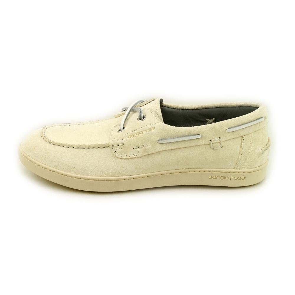 Sergio Rossi A40280 Herren Wildleder Slipper Schuhe Größe