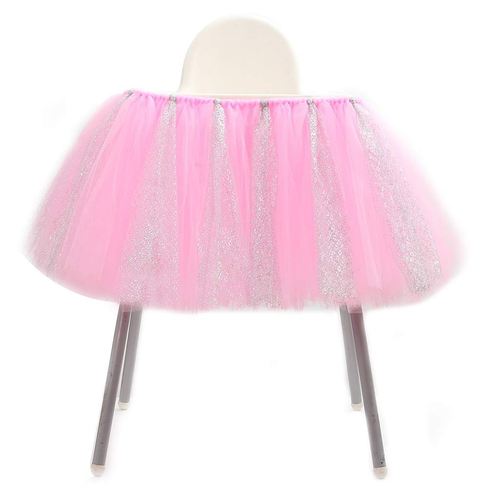Table Cloth Tulle Table Skirts Cover Table Cloth for Girl Princess Party, Baby Shower, Slumber Party, Wedding, Birthday Parties and Home Decoration