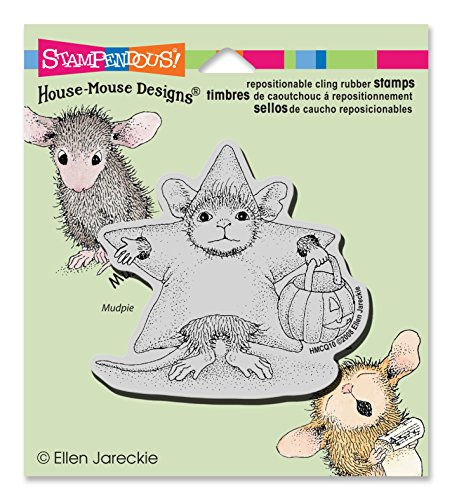 Many Mouse Costume (Stampendous Cling Rubber Stamp, Star Costume)