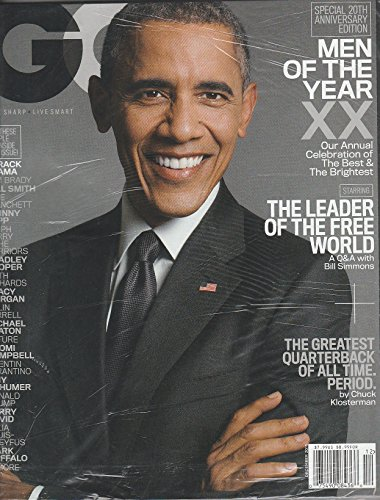 GQ Magazine December 2015 Men of the Year: Barack Obama
