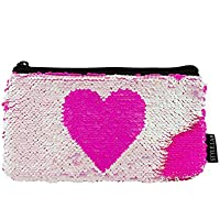 Style.Lab by Fashion Angels Magic Sequin Reveal Pouch - Pink Heart