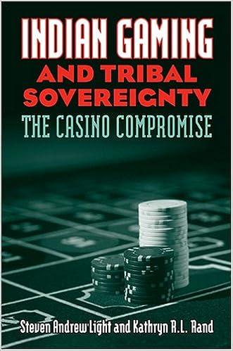 Kostenloses Herunterladen von Hörbüchern für MP3 Indian Gaming and Tribal Sovereignty: The Casino Compromise by Steven Andrew Light,Kathryn R. L. Rand PDF 0700615539