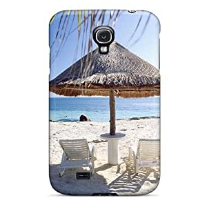 Galaxy S4 WCGuxwP6999YaMBY Nature Beach On The White Sand Tpu Silicone Gel Case Cover. Fits Galaxy S4