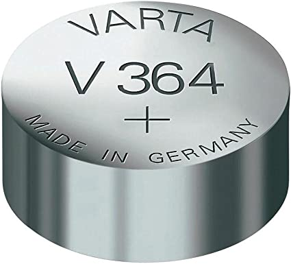 Sr 621 Sw Sr 60 Sw V 364 Varta 1bl Knopfzelle Elektronik