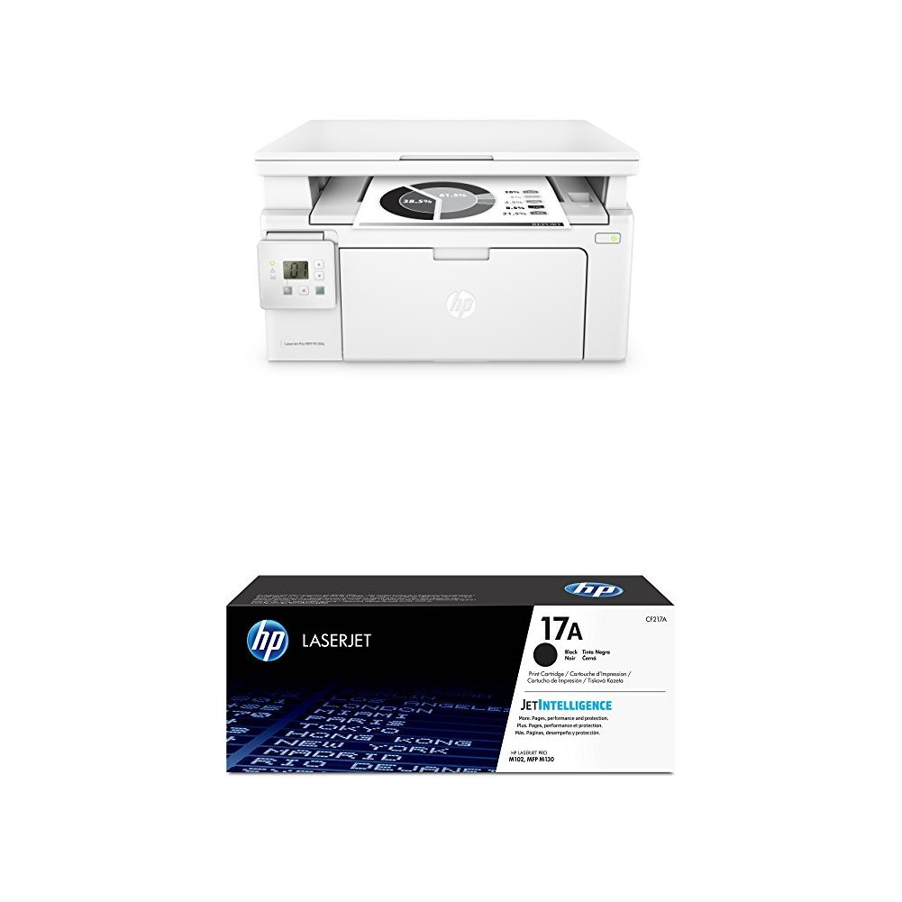 HP LaserJet Pro MFP M130a + CF217A , toner color negro: Amazon.es ...