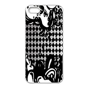 Black Argyle Lava iPhone 4 4s Cell Phone Case White DIY TOY xxy002_904227