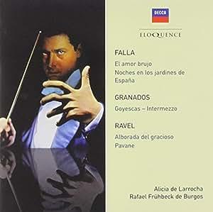 Falla, Granados, Ravel: Orchestral Works