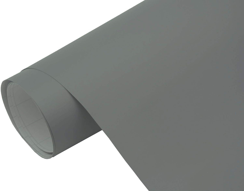 Neoxxim 10 00 M2 Premium Auto Folie Grau Matt 300 X 150 Cm Blasenfrei Mit Luftkanälen Ca 0 15mm Dick Folierung Folieren Bekleben Küche Haushalt