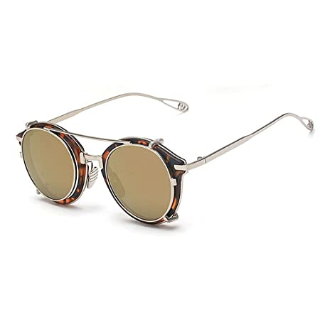 137b05b8a75 Removable Punk Style Sunglasses For Women Men Metal Plastic Frame Rimmed  Sunglasses Classic Stylish Unisex Sunglasses For