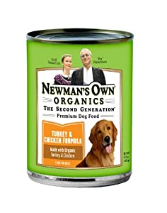 Newman's Own Premium Canned Formulas for Dogs