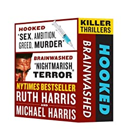 KILLER THRILLERS: Brainwashed & Hooked (Box Set) by [Harris, Michael, Harris, Ruth]