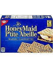 Christie Honey Maid Graham Cracker Wafers, Summer Snacks, 1 Box (400g)