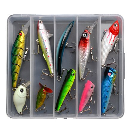 129-Pcs-in-a-Box-Fishing-Lures-Tackle-Soft-Hard-Bait-Sequins-Bait-Bionic-Fishing-Lures-for-Fishing-Lovers