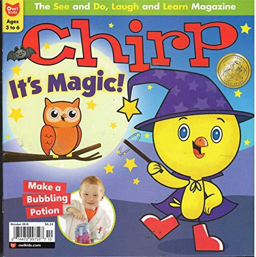 Chirp Magazine October 2018