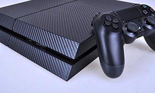 LEGEND Texturizado Azul Oscuro Carbon Piel Para PLAYSTATION 4 PS4 ...