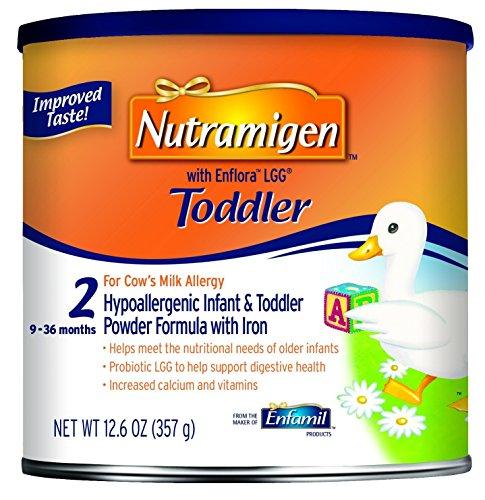 Nutramigen Toddler 12.6 Ounce, Healthly Digestive Toddler Formula Powder Can
