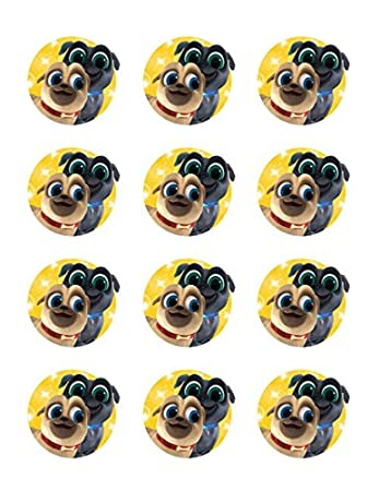 Puppy Dog Pals 2 Cupcake Edible Topper Images Set Of 12 Buy 2