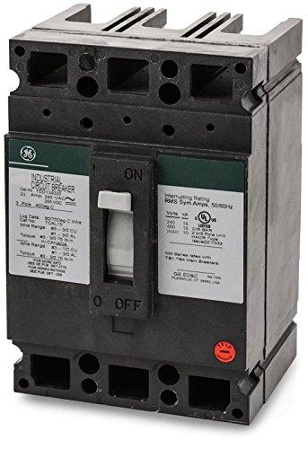 General Electric TED134020 3 Pole Circuit Breaker (CERTIFIED REFURBISHED)