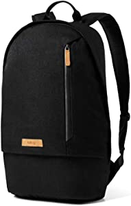 Bellroy Campus Backpack (Slim College Backpack, Protect Sleeve for Laptops Up to 15 Inch, Internal Organization Pockets) - Black