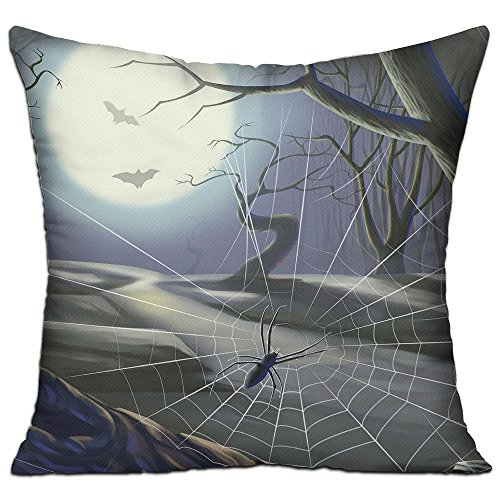 Pillows Filling Stuffing Linen Spider Web Night Moon Cushion Insert Filler Square