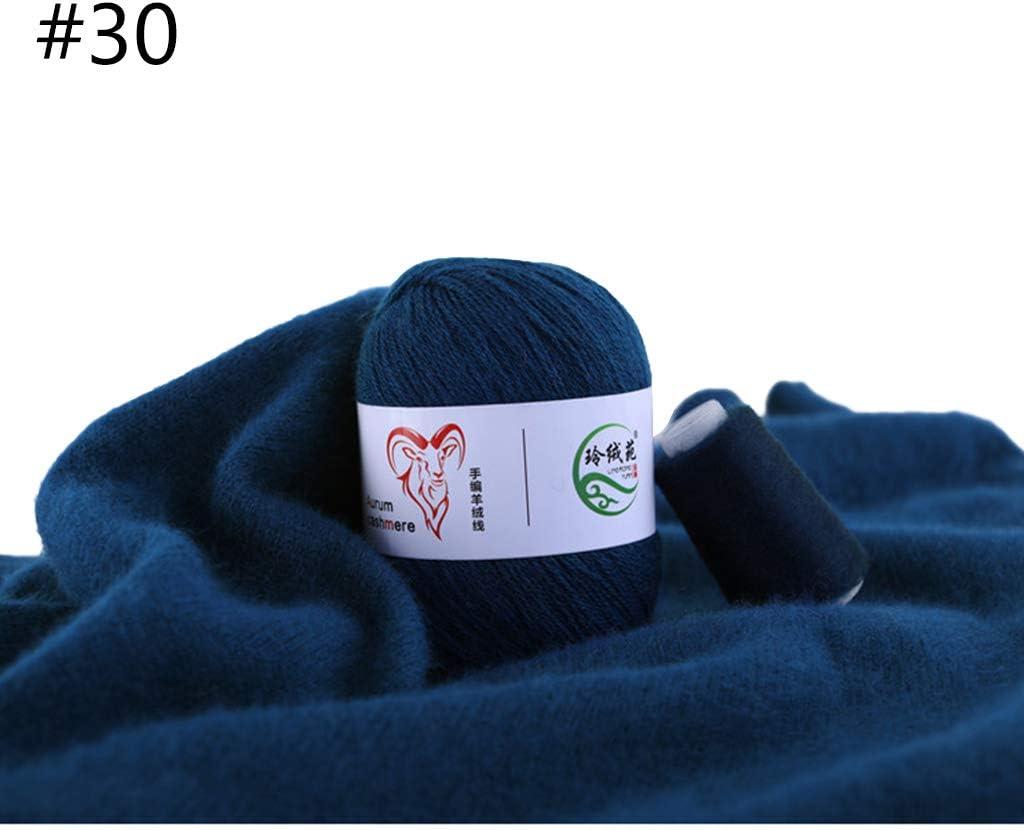 4 x 25g Morbida, Non Punge HANSA-FARM 100/% Lana Cachemire Premium in 12 Colori - Pregiata Lana Cashmere per Maglia e Uncinetto by Bianco - Set da 100g