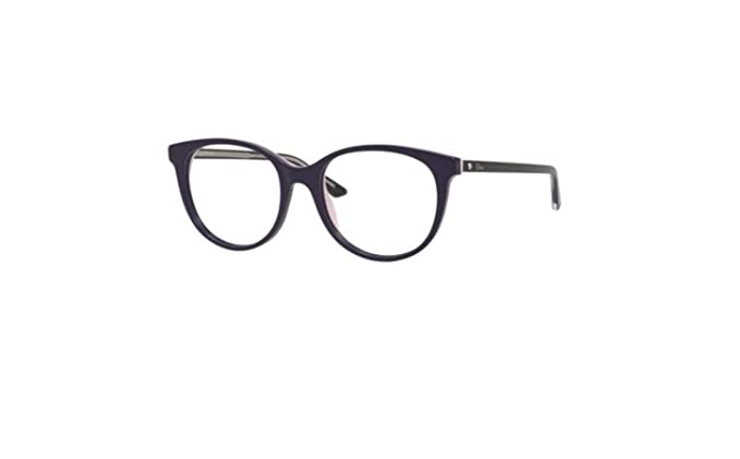 dc602af6afb Image Unavailable. Image not available for. Colour  Authentic Christian Dior  Montaigne 16 0NHI Purple Pink Black Eyeglasses