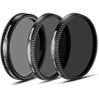 Neewer 3-Piece Filter Set for DJI OSMO / Inspire 1: (1) Polarizer Filter + (1) ND8 Neutral Density Filter + (1) ND16 Neutral Density Filter