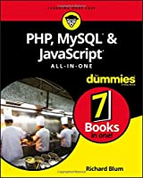 PHP, MySQL & JavaScript All-in-One For Dummies Front Cover