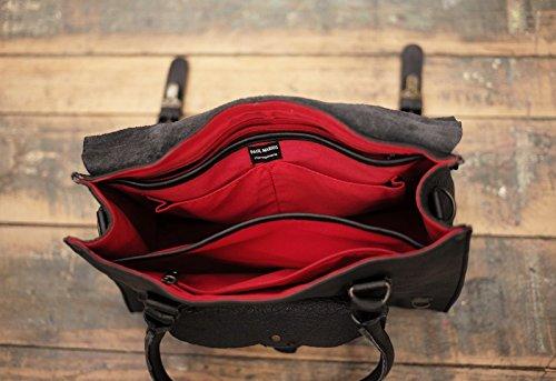 buffle sac fleur de LE style Naturel M Doré pleine cuir vintage RIVE GAUCHE bandoulière MARIUS PAUL 1PFwPX4