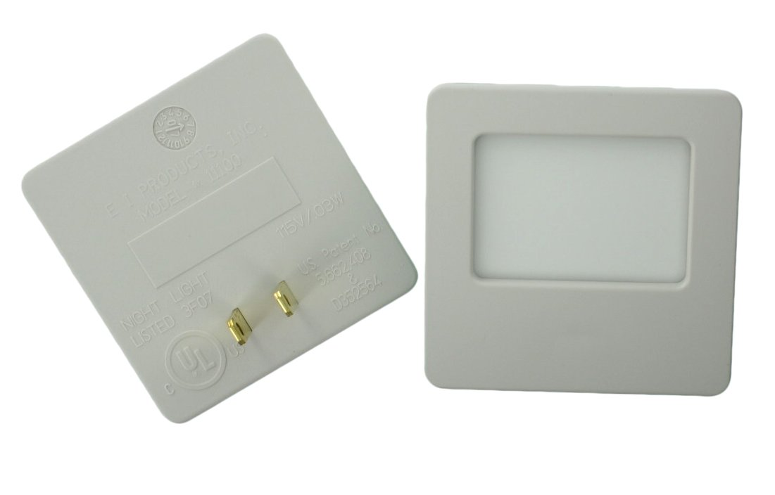 Leviton C22-16509-Soft Green Glow Guide Light, Almond, Pack of 2 16509-2PK