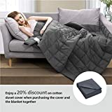 Maple Down Weighted Blanket for Adult 15 lbs Heavy