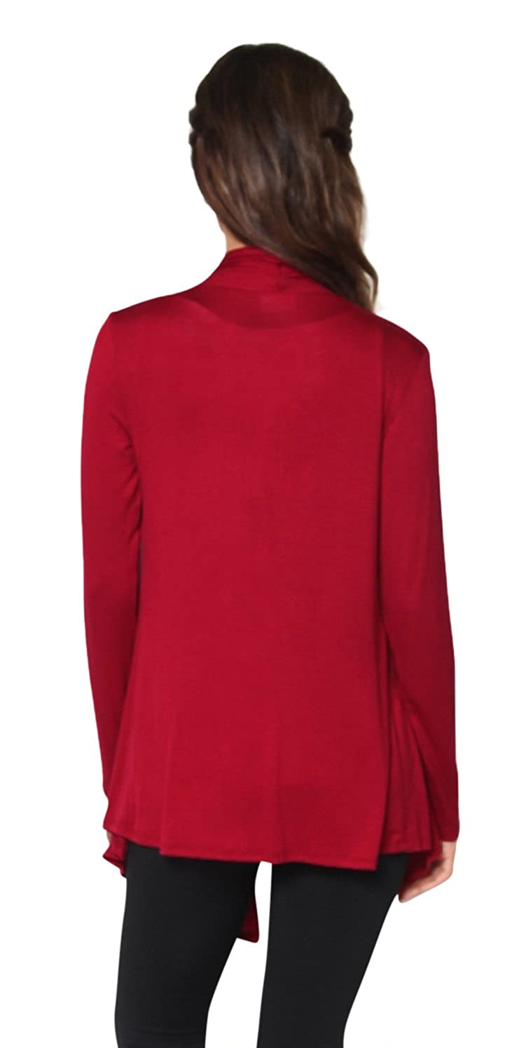 bf59c5eb2d Free to Live Women s Cardigan - Light Weight Sweater with Open Front at  Amazon Women s Clothing store